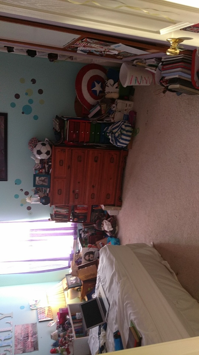 Room before (when it was clean)